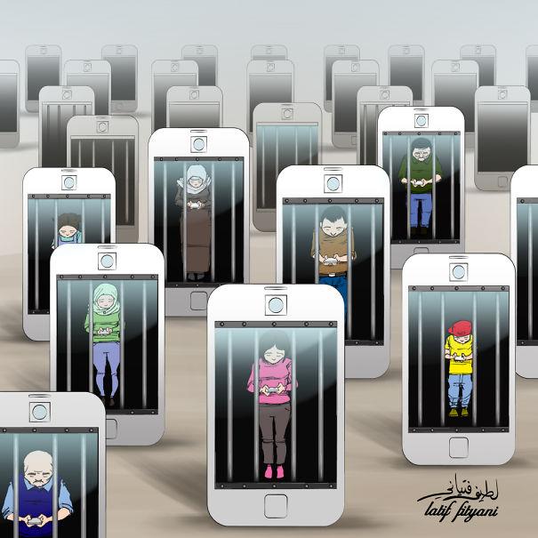 Így uralkodik rajtunk az okostelefon - elgondolkodtató rajzok