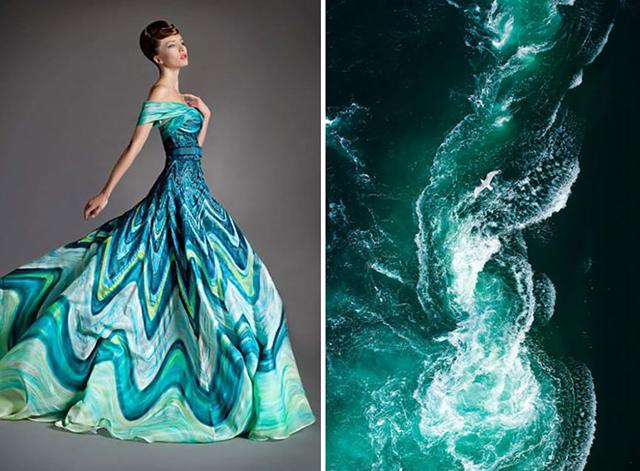 Lenyűgöző fotók: ennyire hasonlít a divat és a természet