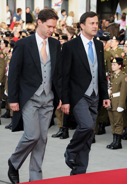Gauthier Destenay és Xavier Bettel