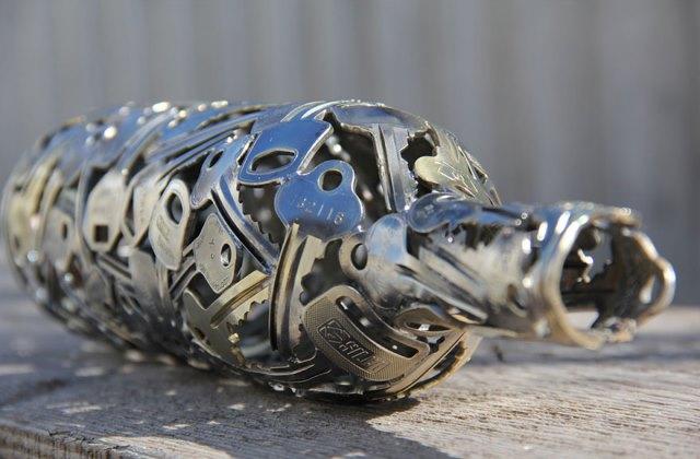 11 káprázatos dísztárgy újrahasznosítva