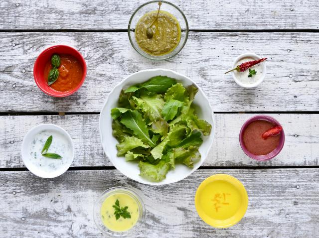 A tökéletes salátaöntet titka