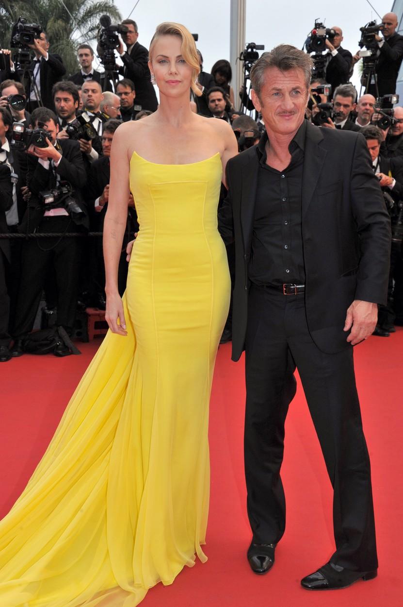 Charlize Theron és Sean Penn