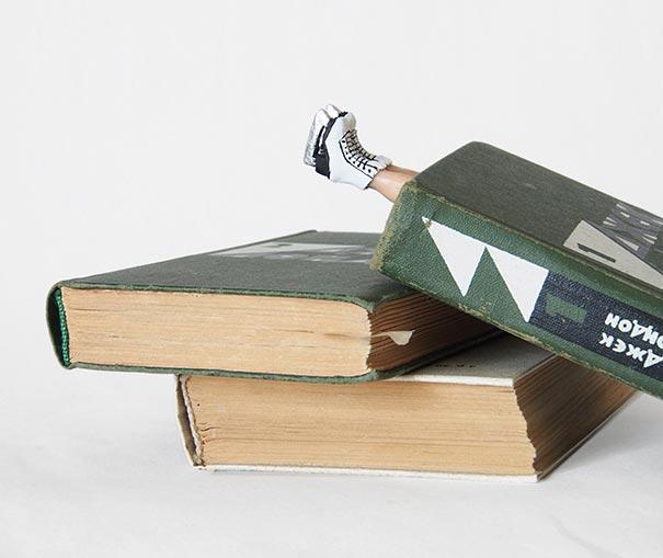 Zseniális könyvjelzők, amiktől eldobják az agyukat a könyvmolyok