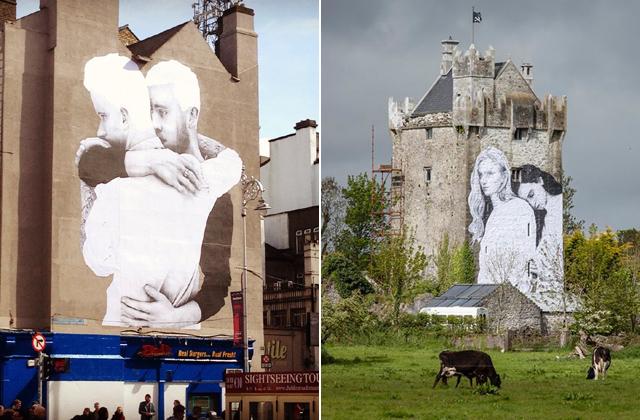 Falfestményekkel kampányol egy ír művész az azonos neműek házasságának engedélyezéséért