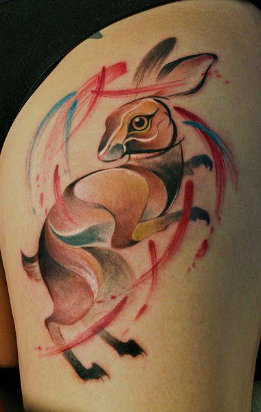 20 szupercuki nyuszis tetoválás - képek