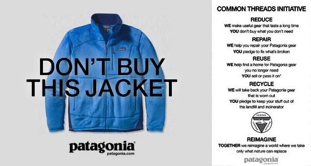 A Patagonia reklámkampánya