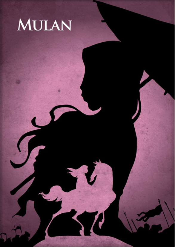 28 minimalista Disney-mese poszter, amiktől te is eldobod az agyad - képek