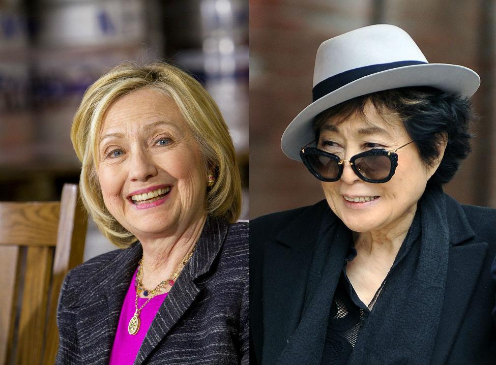 Yoko Ononak viszonya volt Hillary Clintonnal