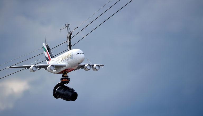 A titok nyitja a kamerára szerelt repülőmodell