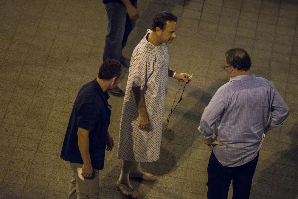 Tom Hanks pizsamában rohangált Budapesten