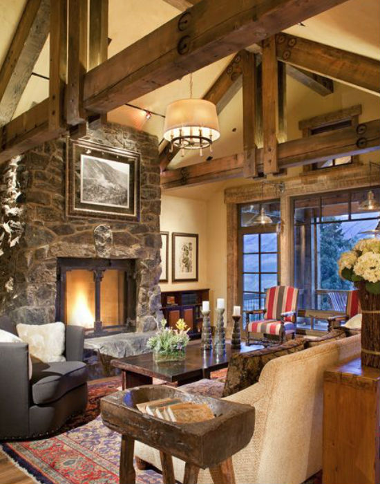 Nemcsak a külsejük, de belső tereik is csodálatosak a fából készült remekműveknek. Fotó: pinterest.com
