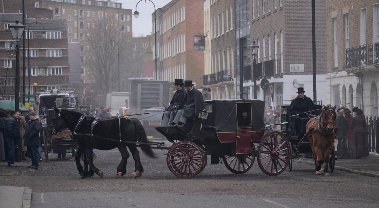 Így készül a Sherlock karácsonyi epizódja - fotó