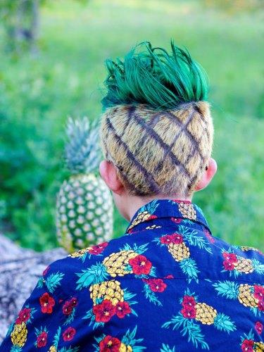 A lúzerek divatja az ananász frizura - ilyet még nem láttál!