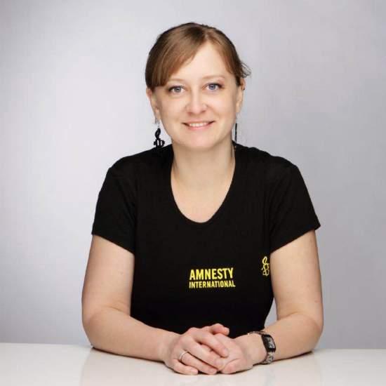 Jeney Orsolya (Forrás: Amnesty International Magyarország)