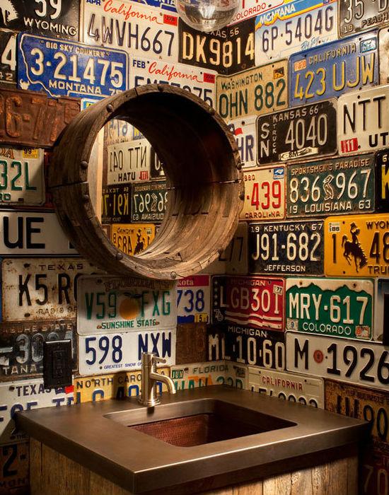 Minél több, különböző államból származó rendszámunk van, annál színesebb lesz a konyha fal. Fotó: buzzfeed.com