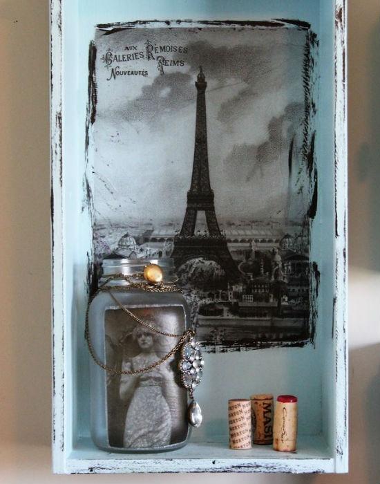 Egy régi, kis dobozba zárt Párizs. Fotó: buzzfeed.com