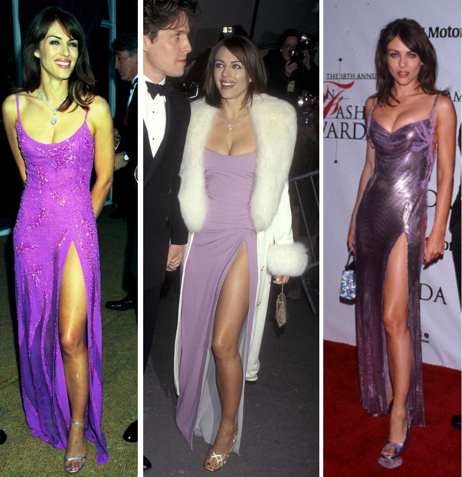 Még a póz is hasonló, pedig a képek balról jobbra a következő sorrendben készültek: 1995, 1996 és 1999