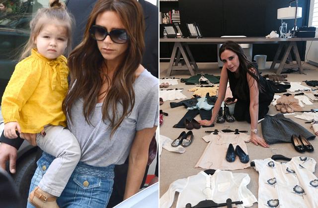 Elárverezteti kislánya kinőtt ruháit Victoria Beckham