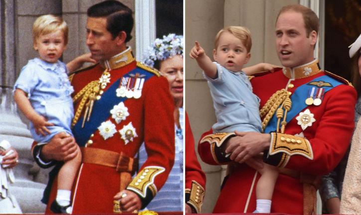 Amit senki nem vett észre: Vilmos hercegek öltöztette fiát Katalin