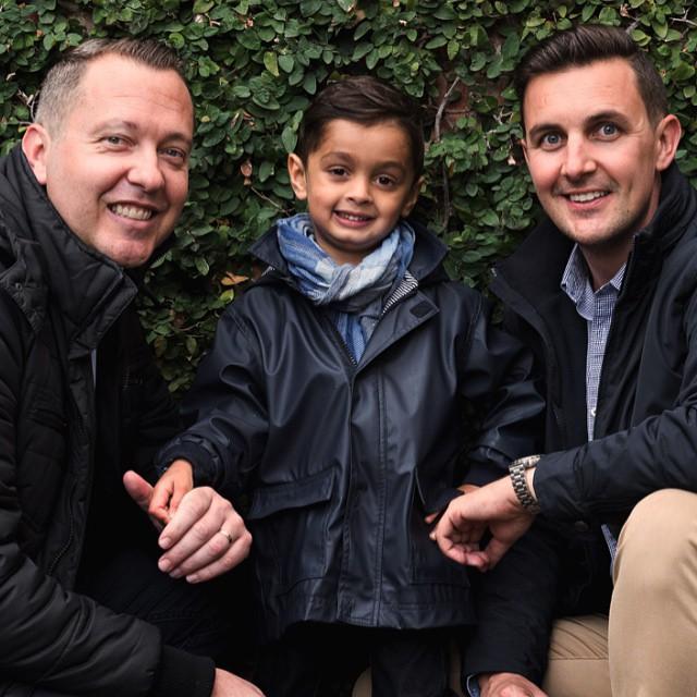 9 homoszexuális szülő, akik kitágítják a hagyományos család fogalmát
