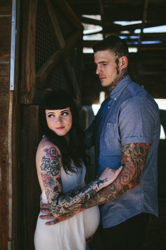 Ők a világ legvagányabb, tetovált szülői - fotók