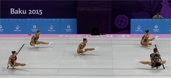Nézegess fotókat az aranyérmes magyar aerobikosokról!