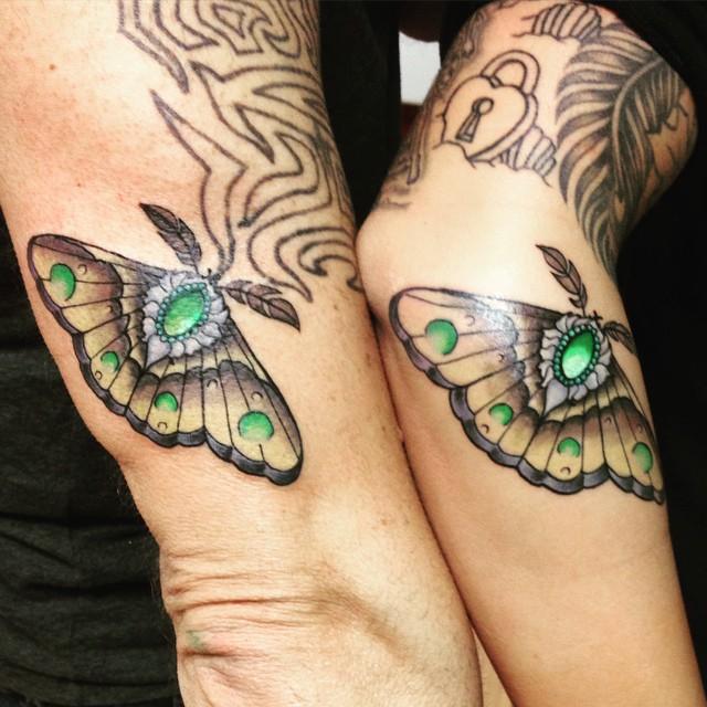 Divatba jött az apa-lánya tetoválás