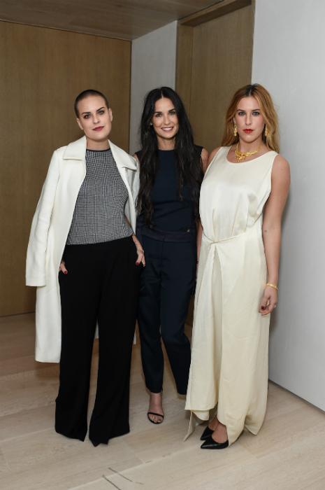 Tavaly novemberben Scout és Tallulah voltak Demi Moore kísérői Los Angelesben