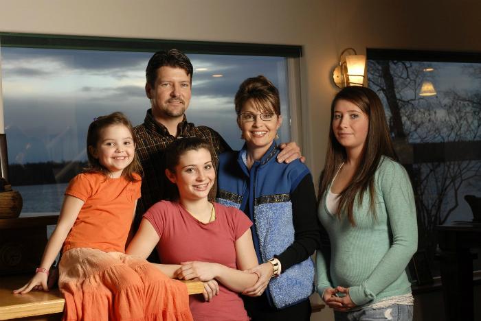 Sarah Palin családja pillanatok alatt vált ismertté 2008-ban