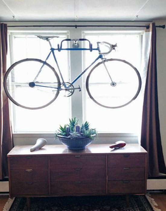 Érdekes megoldás. De ha máshova nem fér el, akkor nem fér el. Fotó: pinterest.com