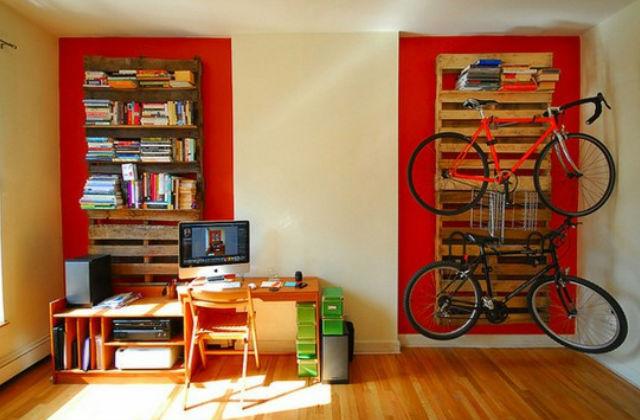 Ötletes, ráadásul költséghatékony megoldás is. Fotó: pinterest.com