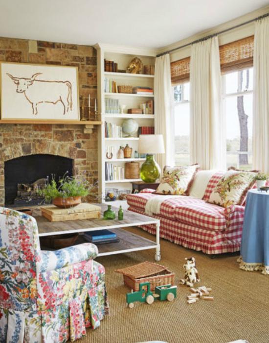 Bailey, ezt a helyiséget családi szobának hívja, ami a társasjátékok és a nagy beszélgetések helyszíne.