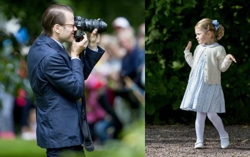 Rengeteg hivatalos kép készült a hercegnőről, de Daniel a családi albumba mindig maga fotózza a lányát