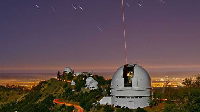 A kaliforniai Lick Observatory egyik teleszkópjaj (Fotó: NASA)