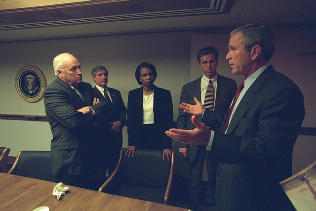 George W. Bush és az elnöki stábja
