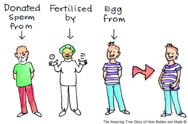 A könyv, ami elmagyarázza a spermadonációt, inszeminációt és császármetszést is a gyerekeknek