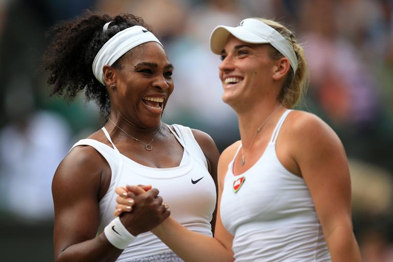 Serena Williams és Babos Tímea