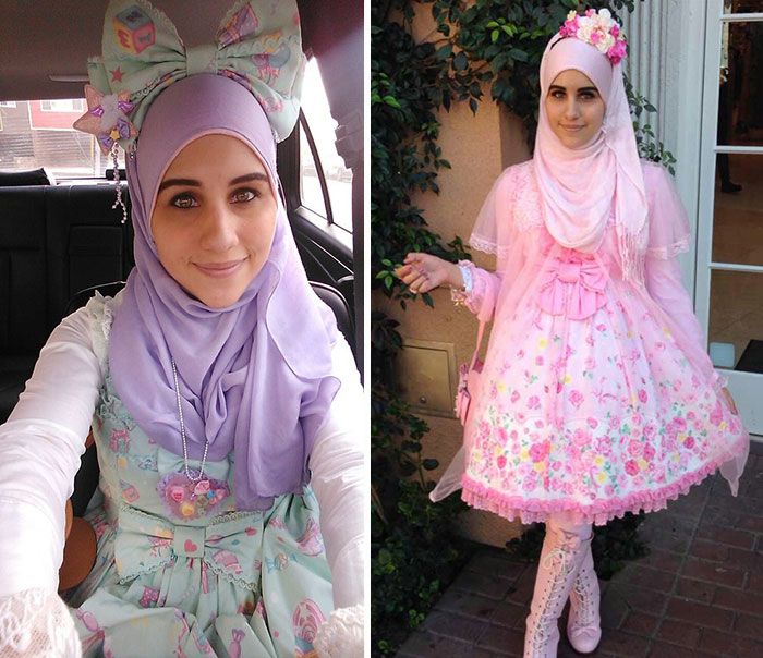 A muszlim lolita divatnál brutálabb nem lesz a héten