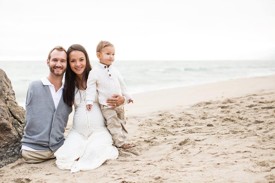 Nick Vujicic újra apa lesz - gyönyörű családi fotók