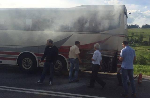 Balesetet szenvedett busz szállította Krakkóból Budapestre az utasokat