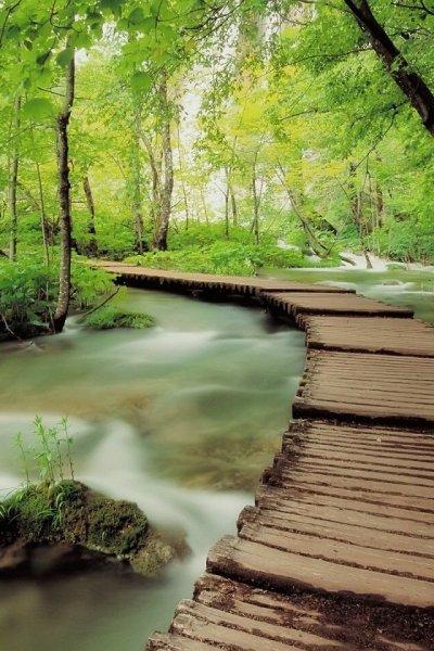 Plitvicei-tavak, a horvát természet gyöngyszeme