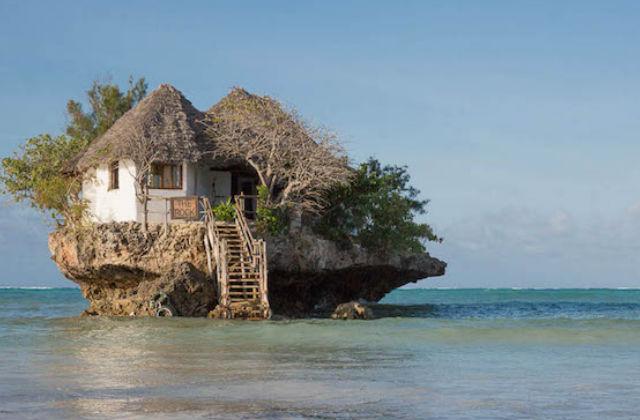 A sziget, ami egy étteremből áll – fotók