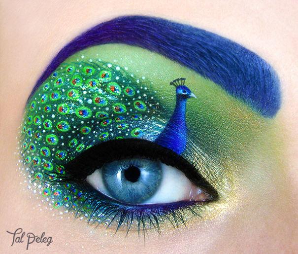 Ezt látnod kell! Elképesztő színes szemsminkeket készít egy művész