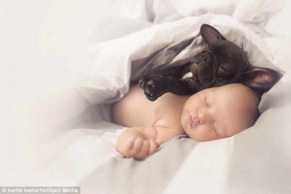 Egy kisbaba legjobb barátja - nagyon megható
