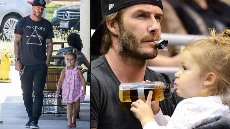 Cumizik a 4 éves Harper Beckham - tényleg szentségtörés?