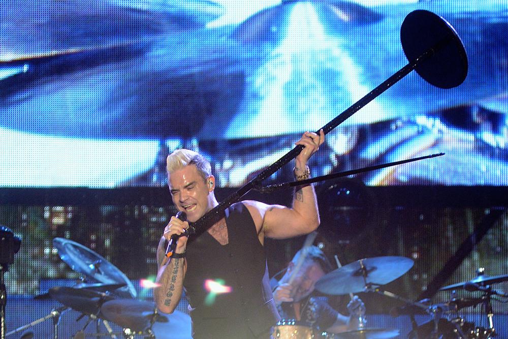 Robbie Williams-nél jobb drog nem kell
