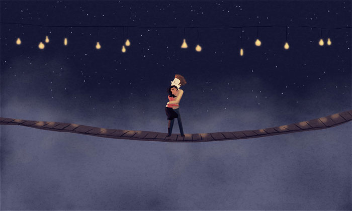 Gyönyörű rajzok, amikből megérted: milyen az igazi szerelem