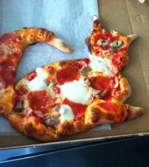 Egy Picasso veszett el a pizzasütő srácban!