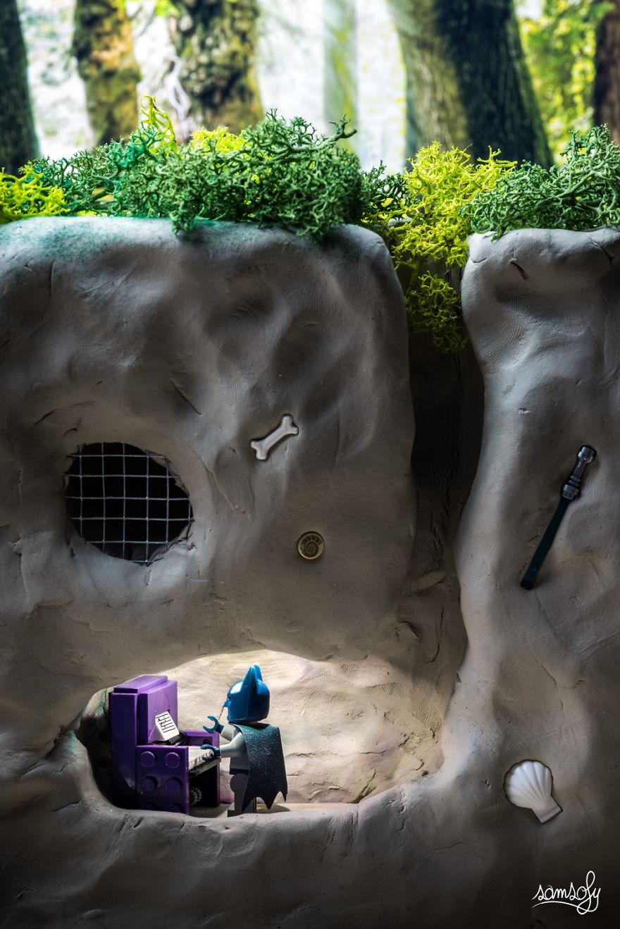 A Batman barlangjában