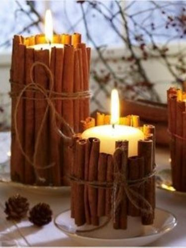 5 mutatós őszi gyertya dekoráció